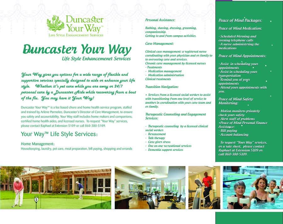 Inscrição nº 5 do Concurso para Develop a bi fold brochure using my logo and copy.