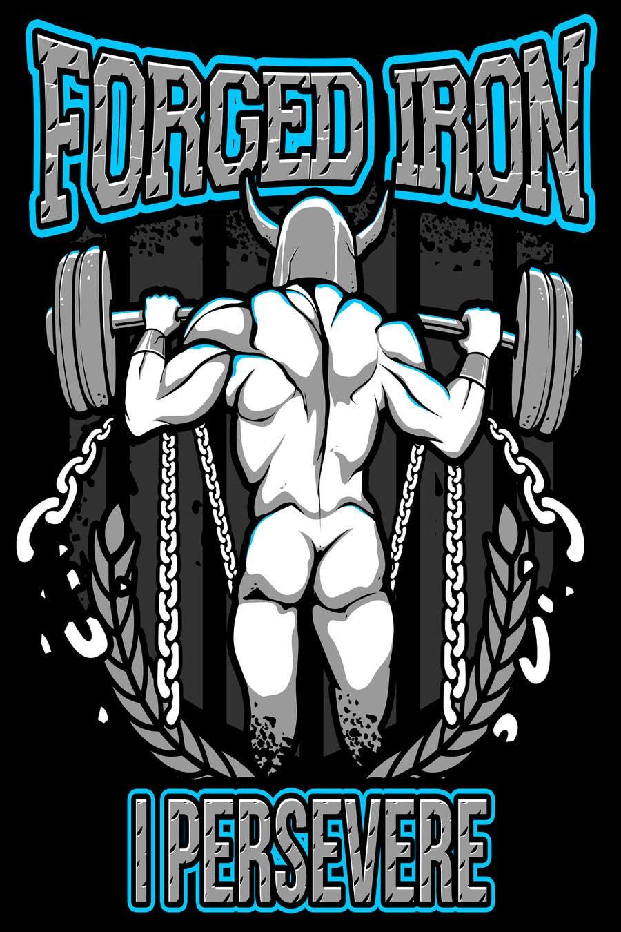 #31 para Need  a t-shirt design -- For Fitness, Weightlifting, Hardcore Training Apparel Company de bamz23