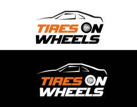 #76 , Logo Design for Tires On Wheels 来自 tania06