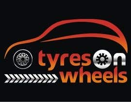 #168 untuk Logo Design for Tires On Wheels oleh ktmehta