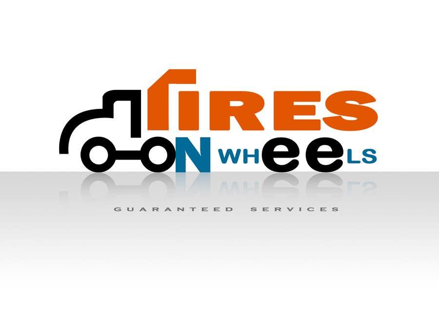 Penyertaan Peraduan #142 untuk Logo Design for Tires On Wheels