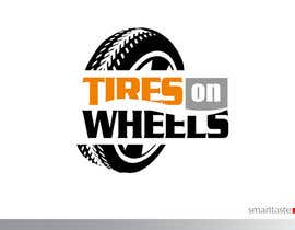 #178 untuk Logo Design for Tires On Wheels oleh smarttaste