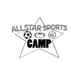 #2 para Design a Logo for All-Star Sports Camp ver. 2 por LoghinClaudiu