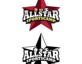 #14 para Design a Logo for All-Star Sports Camp ver. 2 por Qomar