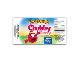 #54 for Chubby Cherry label re-design af DakotaBashir