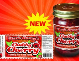 #50 for Chubby Cherry label re-design af rogeliobello