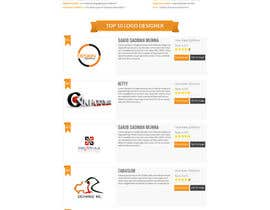 #18 cho BEST HOMEPAGE DESIGNER - 10th project bởi bellalbellal25