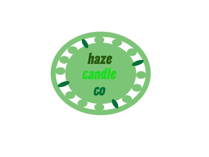 Penyertaan Peraduan #24 untuk Design a Logo for Haze Candle Co.