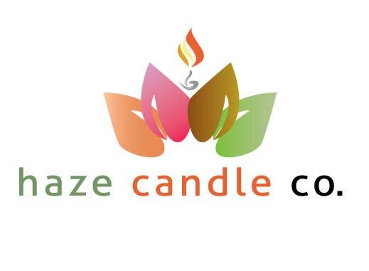 Penyertaan Peraduan #26 untuk Design a Logo for Haze Candle Co.