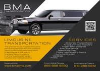 Design an Advertisement for a car service and limo company için Advertisement Design24 No.lu Yarışma Girdisi