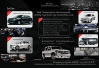 Advertisement Design Kilpailutyö #67 kilpailuun Design an Advertisement for a car service and limo company