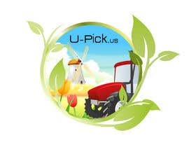 #82 para Design a Logo for U-Pick.us por alidicera