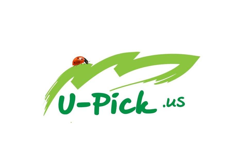 Penyertaan Peraduan #50 untuk Design a Logo for U-Pick.us