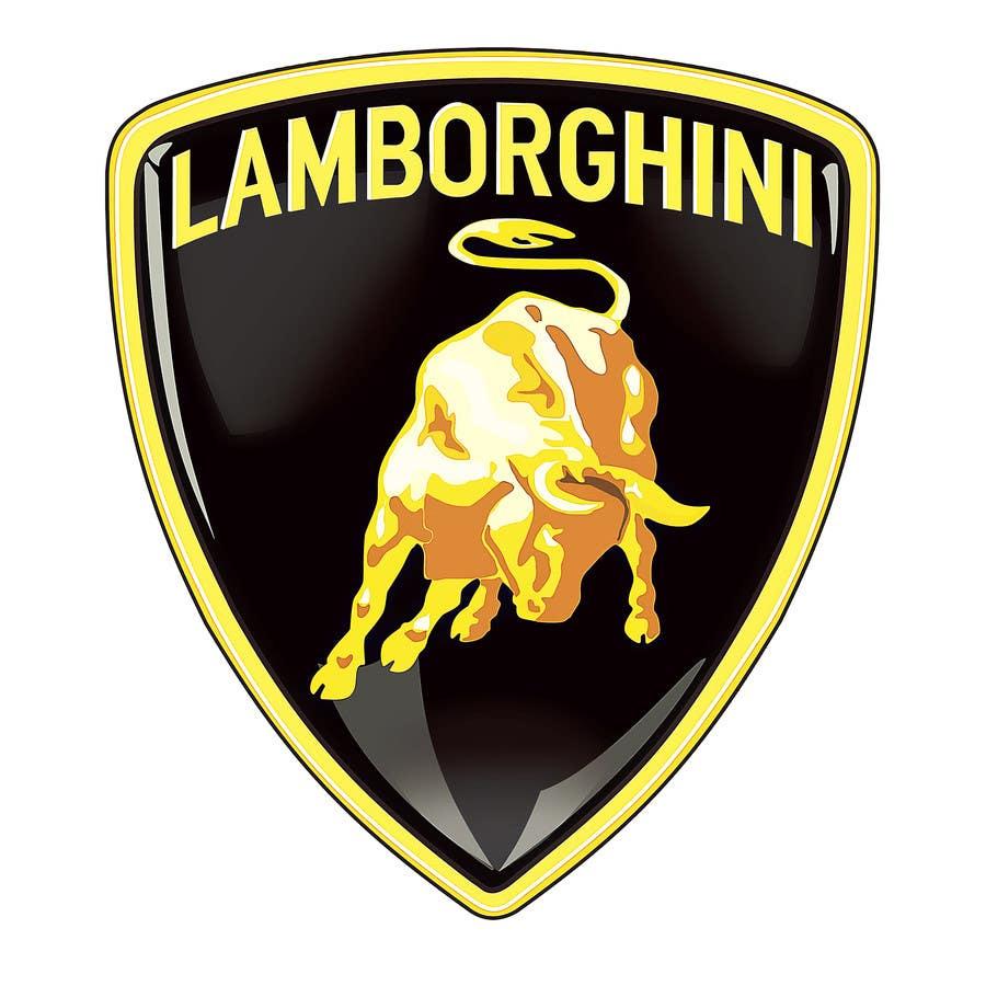 Kilpailutyö #10 kilpailussa Illustrate a Painted Lamborghini Logo Design