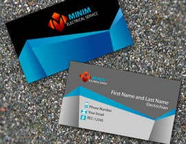 #22 untuk Design some Business Cards for New Electrical Business oleh joyasib94