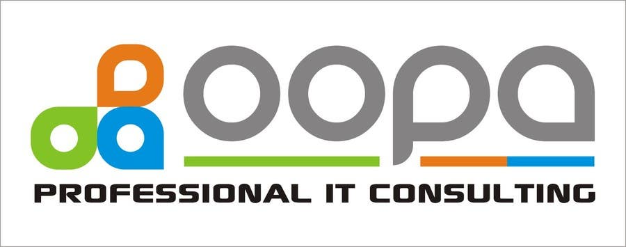 """Bài tham dự cuộc thi #                                        61                                      cho                                         Exciting new logo for an IT services firm called """"oopa"""""""