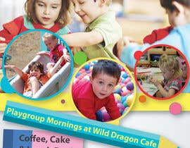 #14 for Design a Flyer for Cafe for Pop Up Playgroup Activities af Daiichirou