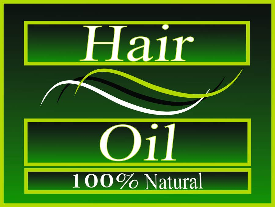 Konkurrenceindlæg #16 for Create Print and Packaging Designs for hair oil labelling