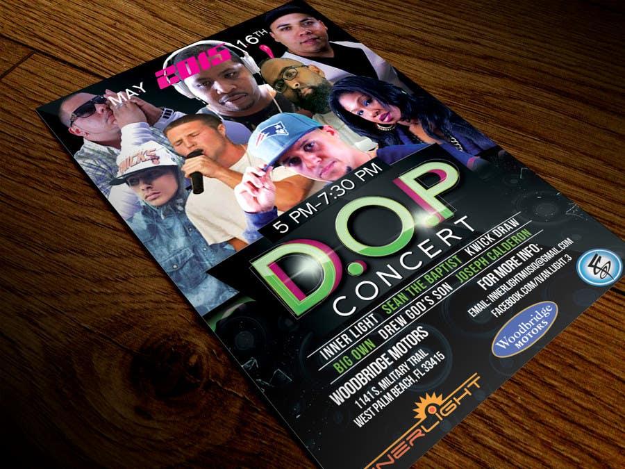 Penyertaan Peraduan #14 untuk Design a Flyer for Concert