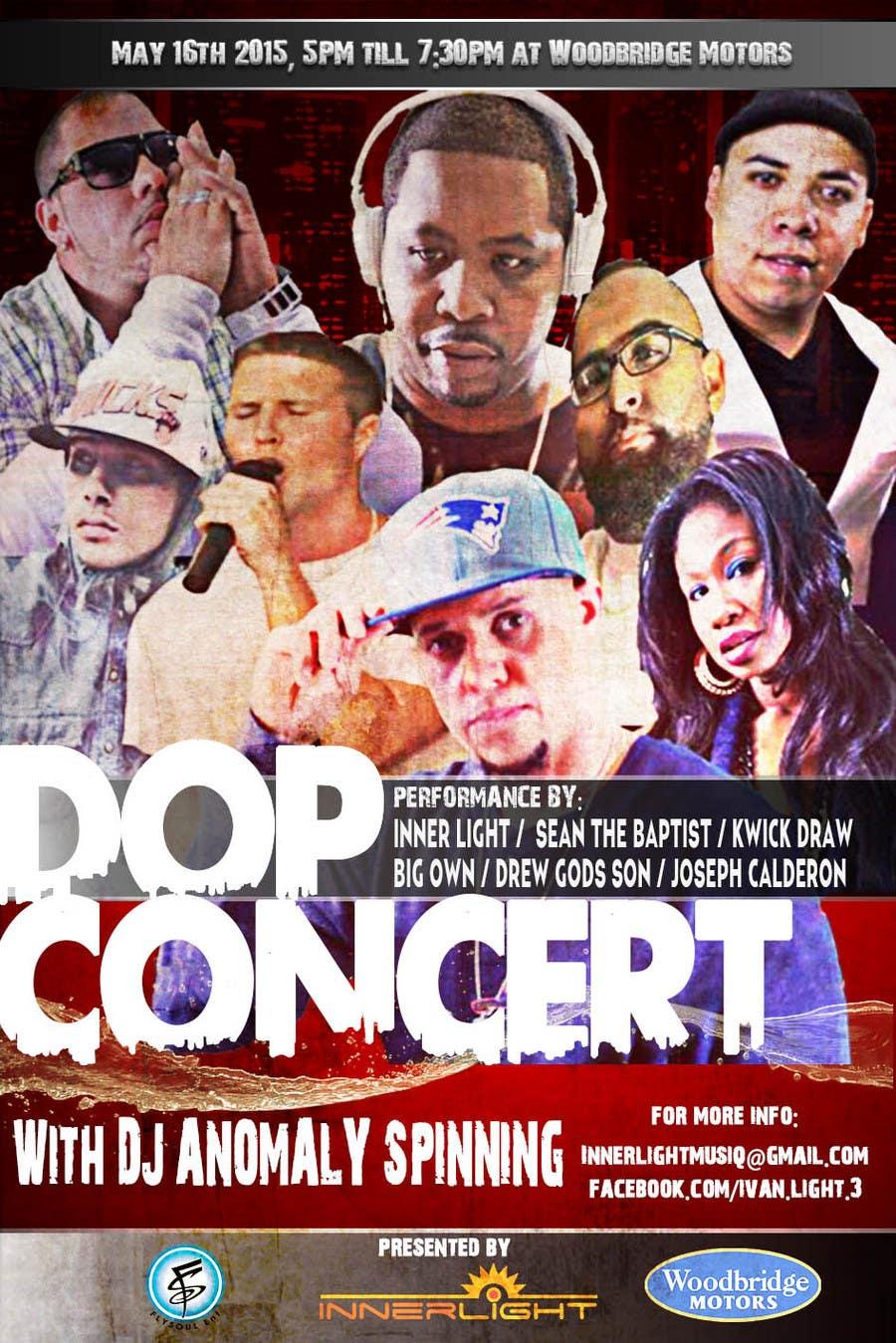 Penyertaan Peraduan #1 untuk Design a Flyer for Concert
