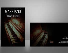 #25 para Design some Business Cards for a Piano teaching business por bartdebrouwer