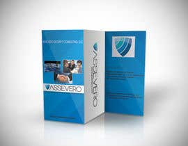 #7 for Design a Brochure for Assevero Security Consulting by Fidelism