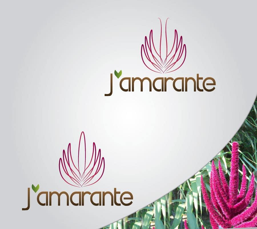 Penyertaan Peraduan #108 untuk Design a Logo for J'amarante