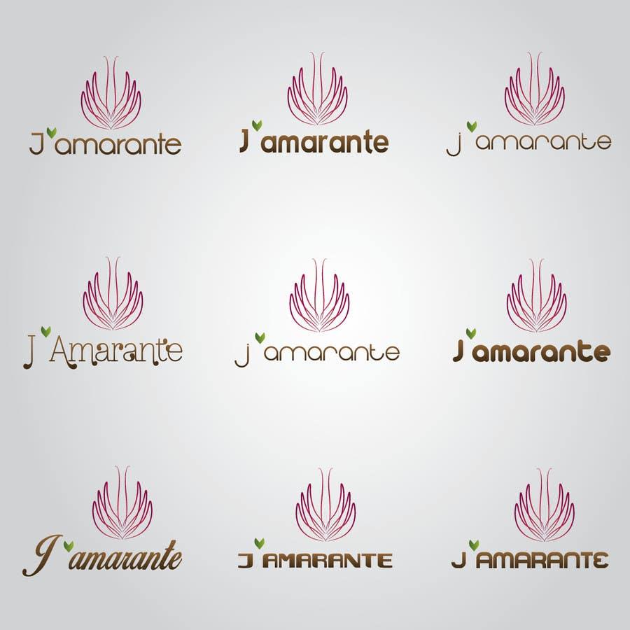 Penyertaan Peraduan #109 untuk Design a Logo for J'amarante