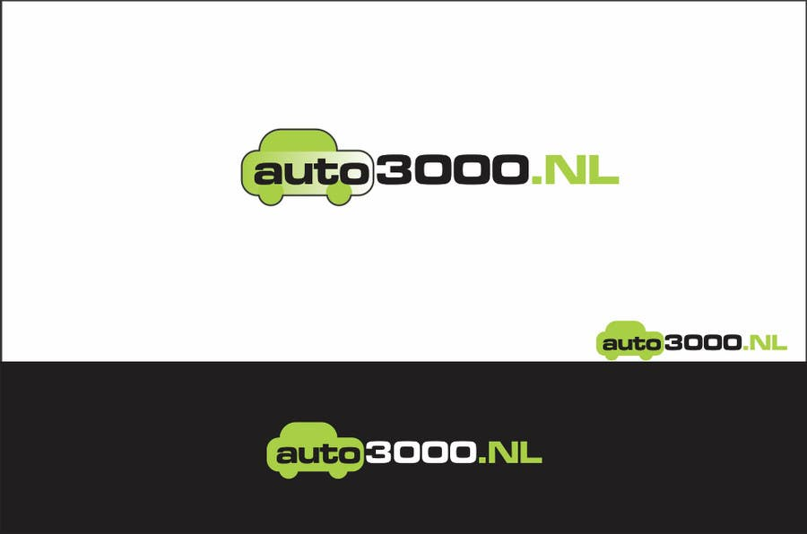 Contest Entry #60 for Design a logo for auto3000.nl, a website selling used cars up to 3000 euro