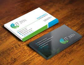 youart2012 tarafından Design some Business Cards for IT Zen için no 48