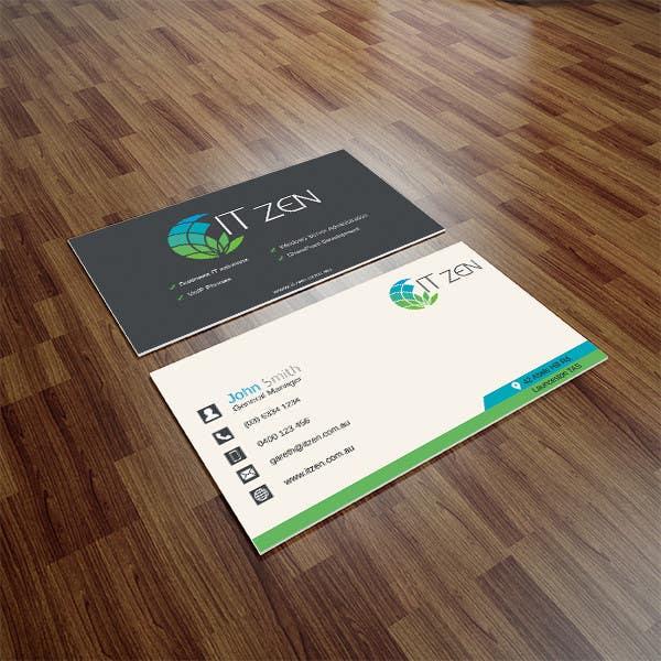 Konkurrenceindlæg #109 for Design some Business Cards for IT Zen
