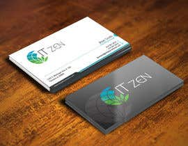 gohardecent tarafından Design some Business Cards for IT Zen için no 63