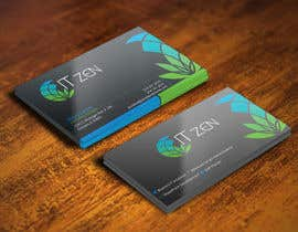 #120 untuk Design some Business Cards for IT Zen oleh gohardecent
