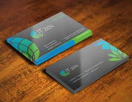 #132 untuk Design some Business Cards for IT Zen oleh gohardecent