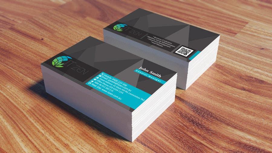 Konkurrenceindlæg #117 for Design some Business Cards for IT Zen