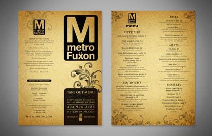 Nro 8 kilpailuun Мне нужен графический дизайн for cafe menu käyttäjältä Nihadricci