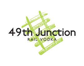 "#17 untuk Design a Logo for ""49th Junction"" Premium Rail Vodka oleh julabrand"