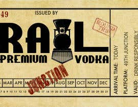 "#8 untuk Design a Logo for ""49th Junction"" Premium Rail Vodka oleh roxrye"