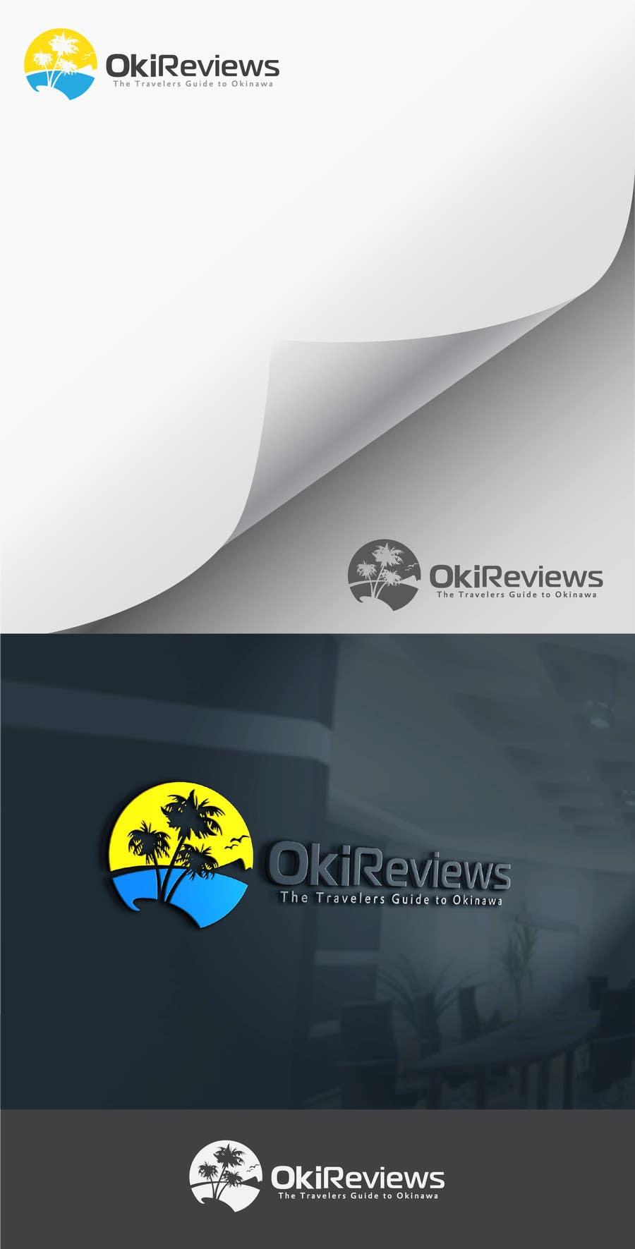 Penyertaan Peraduan #81 untuk Design a Logo for a Travel Review Site