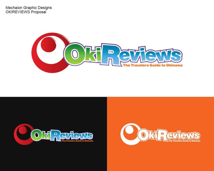 Penyertaan Peraduan #10 untuk Design a Logo for a Travel Review Site