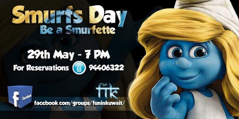Konkurrenceindlæg #                                        6                                      for                                         Design a Banner for an Smurf Event