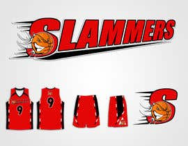 #78 para Design a Logo for Slammers Basketball Team por mykferrer