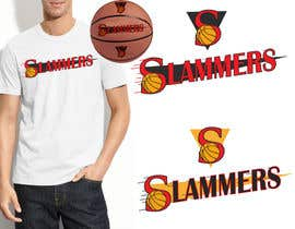 #66 para Design a Logo for Slammers Basketball Team por leo98