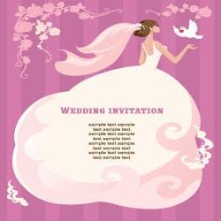 Konkurrenceindlæg #                                        8                                      for                                         Wedding Invitation design needed