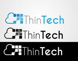 #51 for Thintech logo af faisal7262