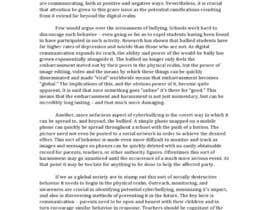 salmonSE tarafından Cyberbullying Essay için no 14