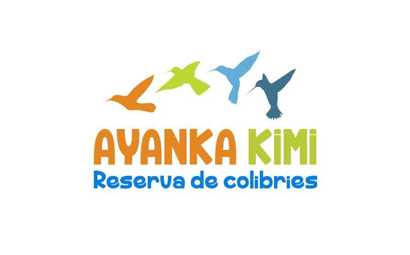 "Bài tham dự cuộc thi #55 cho Diseñar un logotipo para una reserva de Colibríes llamada ""Reserva de Colibríes Ayanka Kimi"""