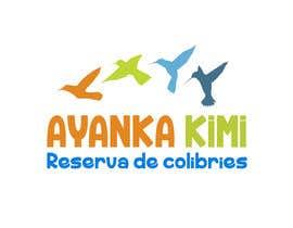 """Nro 55 kilpailuun Diseñar un logotipo para una reserva de Colibríes llamada """"Reserva de Colibríes Ayanka Kimi"""" käyttäjältä SCREAMSAM"""