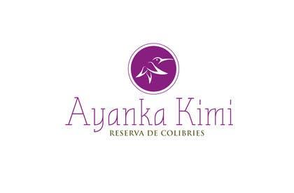 """Nro 13 kilpailuun Diseñar un logotipo para una reserva de Colibríes llamada """"Reserva de Colibríes Ayanka Kimi"""" käyttäjältä sayuheque"""