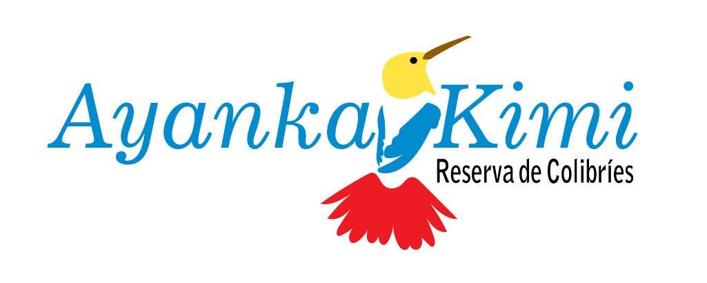 "Bài tham dự cuộc thi #38 cho Diseñar un logotipo para una reserva de Colibríes llamada ""Reserva de Colibríes Ayanka Kimi"""